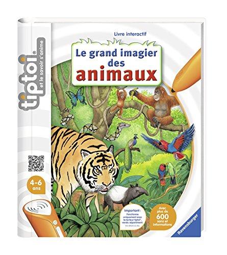 Ravensburger- tiptoi®- Livre interactif- Le grand imagier des animaux- A partir de 4 ans- 00 648