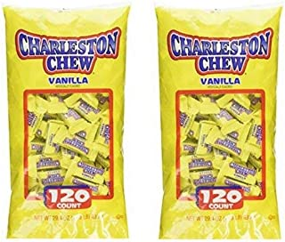 Charelston Chew Small Bars Candy, 120 count, 1.83 lbs - Pack of 2