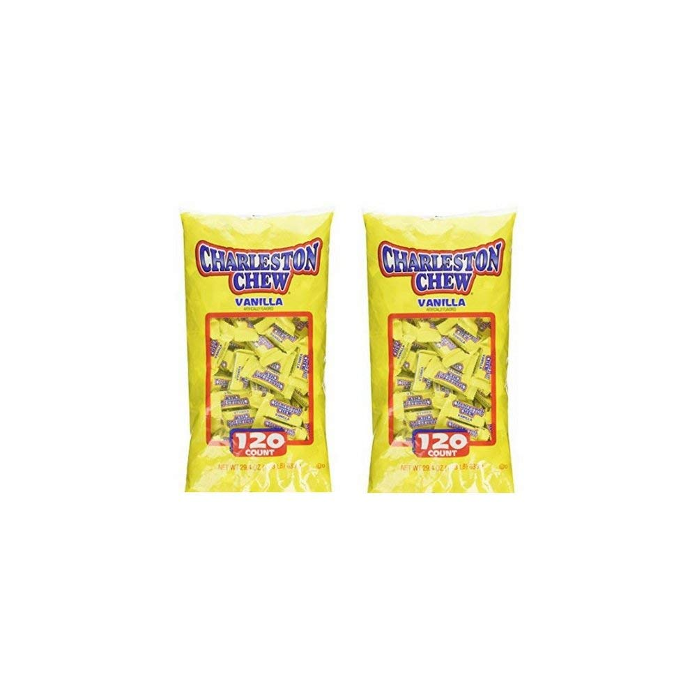 Charelston Chew Small Bars Detroit Mall Candy 120 Ultra-Cheap Deals count 1.83 - lbs Pack of