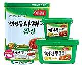 お肉巻き巻きの日に欠かせない韓国味噌 サムジャン ヘチャンドル 500g