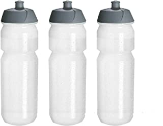 (3 Pack) Sipper Sports Water Bottle With Spout I Bulk/Wholesale BPA Free Easy Open Push/Pull Cap Ideal for Bike Cycling Gy...