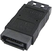 5Pcs 7Pin SATA Female to SATA 7Pin Female Extension Adapter Coupler