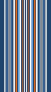 Bahia Collection by Dohler Multi Vertical Stripes Brazilian Velour Beach Towel 40X72 Inches