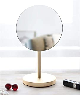 Vanity Mirrors 180 Degree Flip Personal Makeup Mirrors with Non-Slip Base HD Mirror for Girlfriend Wife Mother Daughter Table Top Beauty Mirror OO