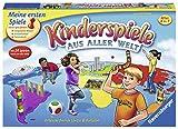 Ravensburger 21441 - Kinderspiele aus aller Welt - Spielesammlung für Kinder, 24 Minispiele für 2 bis 4 Spieler ab 4-7 Jahren