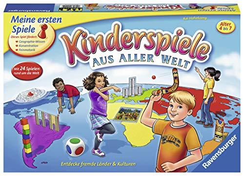 """Ravensburger Kinderspiele 21441 - """"Kinderspiele aus aller Welt"""" – Spielesammlung für Kinder von 4-7 Jahren"""