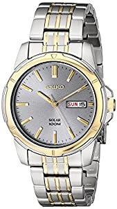 Seiko Men's SNE098 Two-Tone Stainless Steel Watch from Seiko