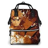 Anime Naruto Naruto Uzumaki Diaper Bag Waterproof Travel Backpack Large Nappy Bags Mummy Backpack