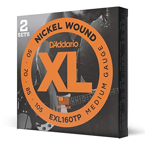 D'Addario EXL160TP Set Corde Basso EXL