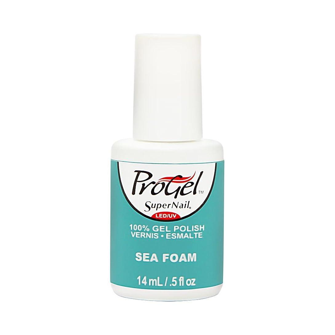 メタリック渇き共感するSuperNail ProGel Gel Polish - Sea Foam - 0.5oz / 14ml