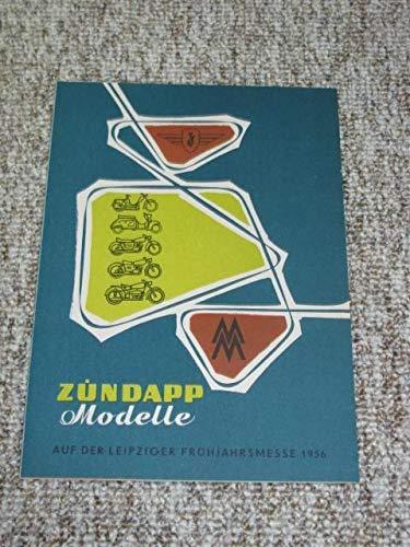 Zündapp Modelle auf der Leipziger Frühjahrsmesse 1956