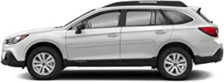 Dawn Enterprises FE7-OUTBACK Custom Body Side Molding Compatible with Subaru Outback - Magnetite Gray Metallic (P8Y)