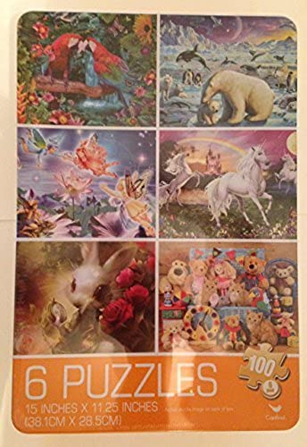 Cardinal Games 6-Puzzle Gift Tin by Cardinal Games
