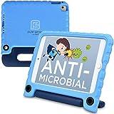 Pure Sense Hülles Antimikrobielle & kindersichere Hülle für iPad Pro 9.7, iPad Air 2 (Ständer, Handgriff, Schultergurt) A1673 A1674 Apple iPad Mini 4 (5th generation) iPad Mini 4 Blau