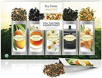 15-Count Tea Forte Single Steeps Tea Tasting Assortment Pack