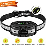 Nemobub No Shock Bark Collar for Large Medium Small Dog,Dual-Motor and 2 Training Modes,Strong Vibration and Sound Stop Barks Fast with No Pain,Safe Anti-Bark Device,Small and Lightest
