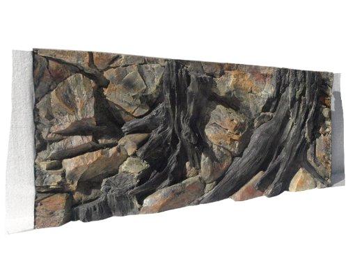 ABG028 Rückwand zum Aquarium und Terrarium 3d Wurzel 100x50cm bei Robizoo