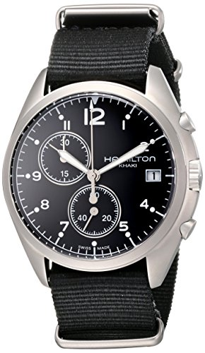 Hamilton Pilot Pioneer Chrono Quartz Men's Watch #H76552433