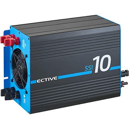 ECTIVE 1500W 24V zu 230V Reiner Sinus-Wechselrichter SSI 15 mit MPPT-Laderegler, Batterie-Ladegerät, NVS- und USV-Funktion