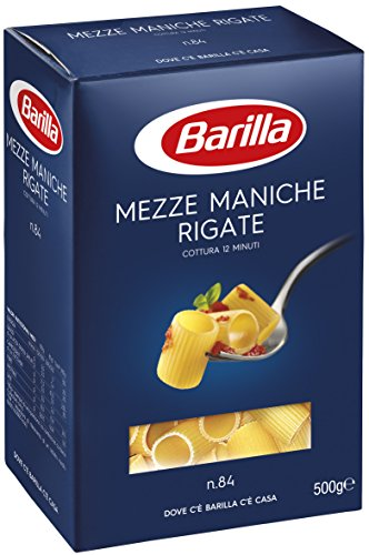 Barilla - Medias mangas a rayas, cocinando 12 minutos - 6 piezas...