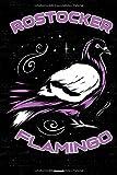 Rostocker Flamingo Notizbuch: Rostock Stadt Journal DIN A5 liniert 120 Seiten Geschenk (German Edition)