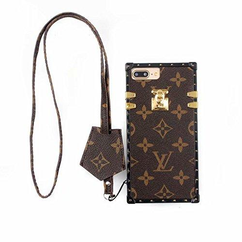 3f8634516cb1 Phone Case for iPhone 8 Plus/7 Plus, Vintage Luxury Designer Monogram  Fashion Style