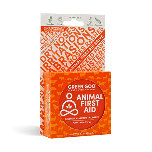 Green Goo Natural Skin Care, Animal First Aid, Large Tin, 1.82 Ounce (Packaging May Vary)