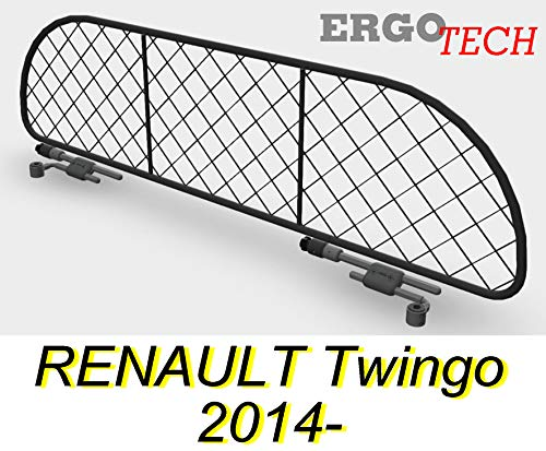 ERGOTECH Trennnetz Trenngitter Hundenetz Hundegitter für Renault Twingo ab BJ 2014