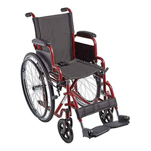 Circle Specialty, Ziggo Seat Width Pediatric Wheelchair for Kids & Children, Lightweight, Manual Folding Wheelchair w/Safety Belt, Swing-Away Foot Support w/Straps, Desk Length Arm Rests (14