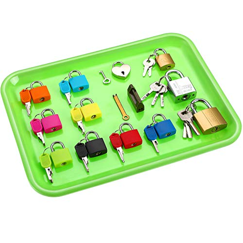 Matching Games Lock Set Toy Lock and Key Set Color Montessori Locks Early Learning Preschool Educational Toys for Pupils Students