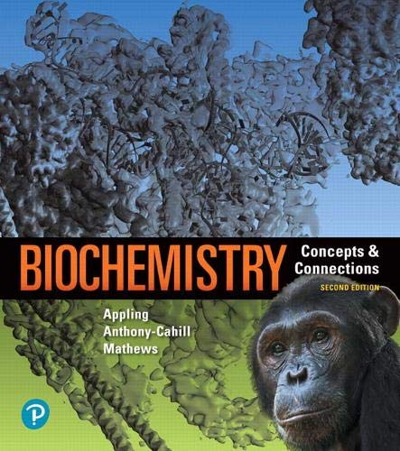 Compare Textbook Prices for Biochemistry: Concepts and Connections MasteringChemistry 2 Edition ISBN 9780134641621 by Appling, Dean,Anthony-Cahill, Spencer,Mathews, Christopher