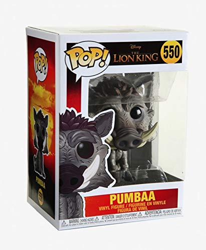 Funko- Pop Vinile: Disney: The Lion King (Live Action) -Pumbaa Figura da Collezione, Multicolore, 38545