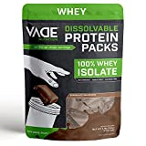 Vade Nutrition Dissolvable Protein Packs   Chocolate Whey Isolate Protein...