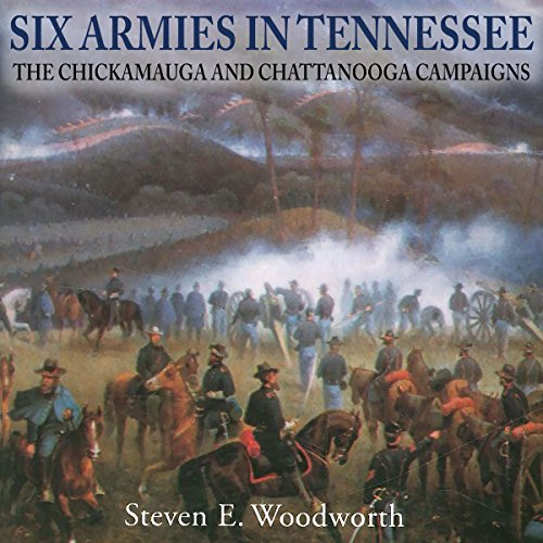 Six Armies in Tennessee audiobook cover art