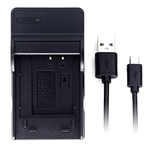 LI-50B USB Cargador para Olympus D-750, SH-21, SP-800UZ, SP-810UZ, SP-815UZ, Stylus 1010, 1030SW, SZ-12, SZ-14, Tough TG-2, VR-340, VR-350, XZ-1 cámara y Más