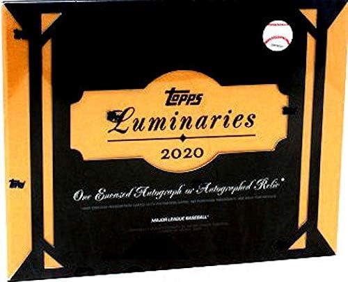 low-pricing 2020 Topps Luminaries MLB Baseball 1 encased card 5 popular Autograph box
