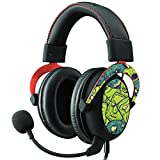 MightySkins Skin Compatible with Kingston HyperX Cloud II Gaming Headset - Monster Pattern   Protective, Durable, and Unique Vinyl Decal wrap Cover   Easy to Apply, Remove   Made in The USA
