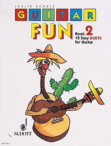 Guitar Fun: 15 Easy Duets. Vol. 2. 2 Gitarren. Spielpartitur.