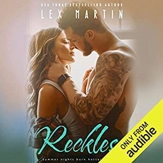 Reckless                   By:                                                                                                                                 Lex Martin                               Narrated by:                                                                                                                                 Savannah Peachwood,                                                                                        Stephen Dexter                      Length: 11 hrs and 9 mins     39 ratings     Overall 4.5