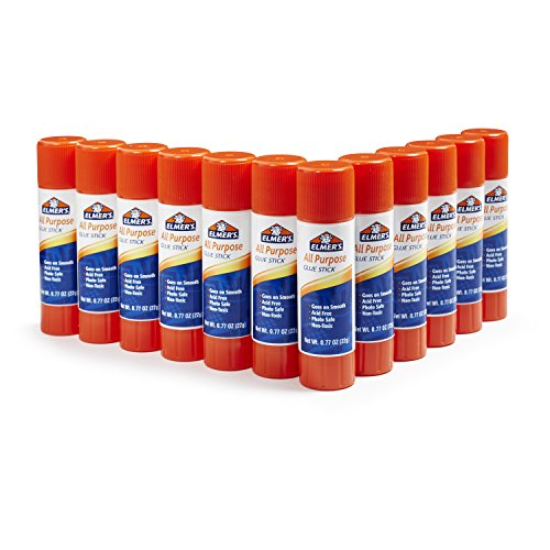Elmers All-Purpose Glue Sticks, 0.77 oz, 12/Pack
