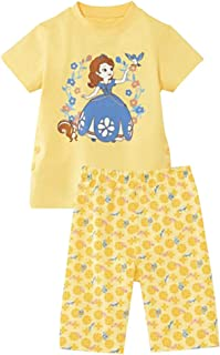 [ベルメゾン]ディズニー 子供 パジャマ おなかがでにくい半袖パジャマ ちいさなプリンセス ソフィア