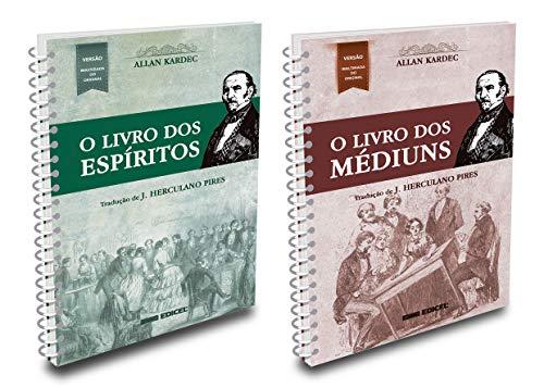 Kit O Livro Dos Espíritos + O Livro Dos Médiuns - Espiral