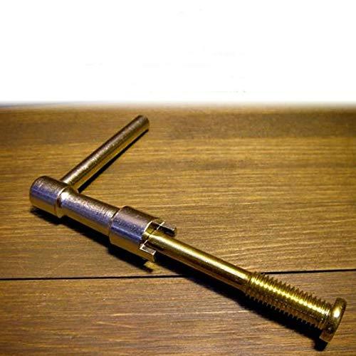 YINGDATETUI Repair Tool for Piano Afinación Herramienta de reparación GP Placa Media Tornillo de Ajuste Llave de Piano de Cola Eje de Marco de Alambre Llave de Ajuste