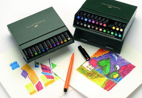 Faber-Castel Pitt Artist Brush Pens (12 Pack), Multicolor