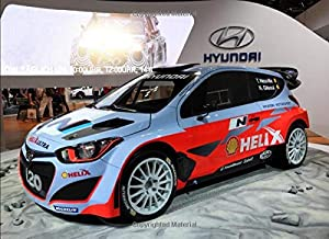 Hyundai i20 WRC: 120 pages with 20 lines you can use as a journal or a notebook .8.25 by 6 inches