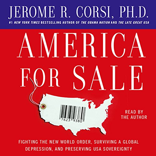 America for Sale audiobook cover art