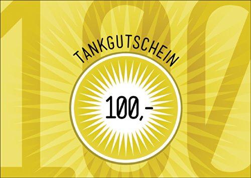 Trendy tank cadeaubon (blanco) / cadeaukaart van meer dan 100 euro in stralend geel voor het rijbewijs of voor spattochten - niet vergeten geld bij te leggen :) • mooie groet vouwkaart met envelop binnen wit