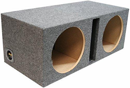 Car Audio Dual 15' Vented Subwoofer Stereo Sub Box Ported Enclosure 3/4' MDF