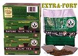 Nature Slim Tea Extra Fort 3x30 infusettes - La tisane minceur
