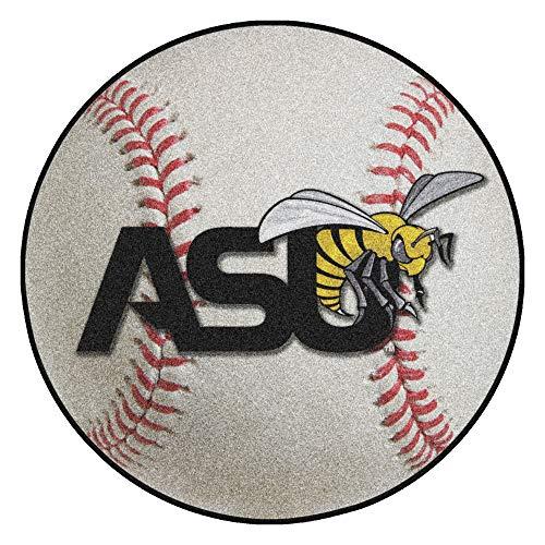FANMATS NCAA Alabama State University Hornets Nylon Face Baseball Rug